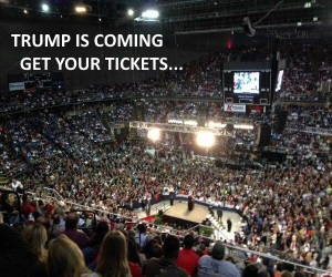 TRUMP EVENT TICKETS